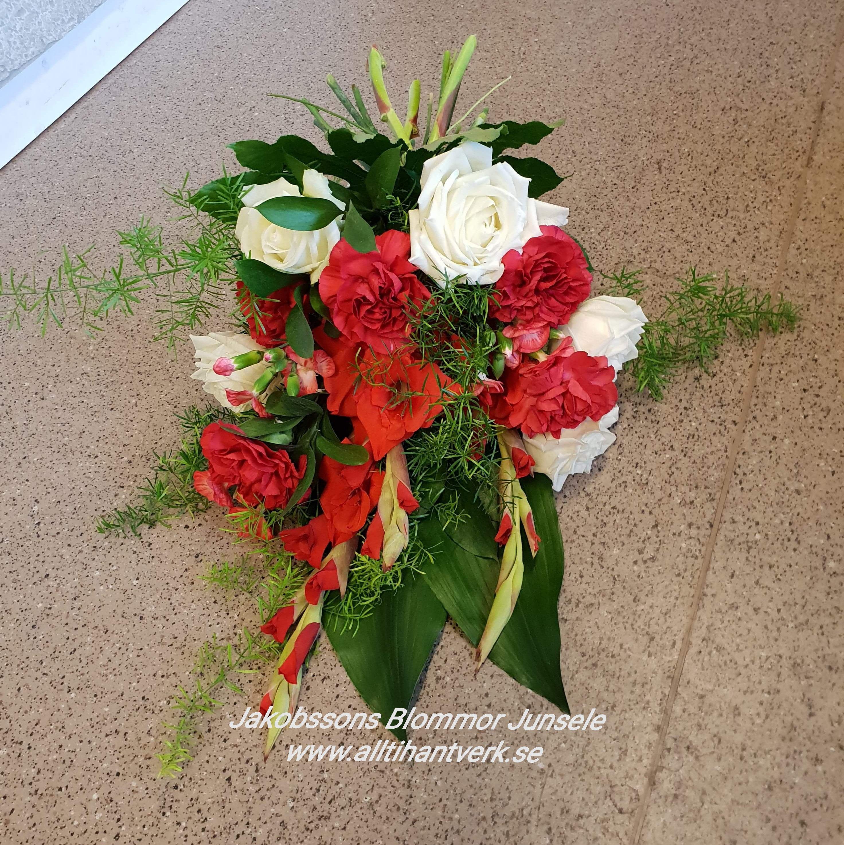 sorgbukett gladiolus
